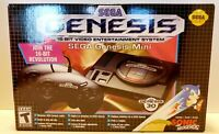 SEGA GENESIS MINI CONSOLE Bundle 40 Preloaded Games & 2 Controllers 16 BIT HDMI