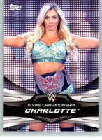 2016 WWE Divas Revolution Champions #7 Charlotte Flair