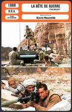 LA BETE DE GUERRE - Szundza,Patric (Fiche Cinéma) 1988 - The Beast of War