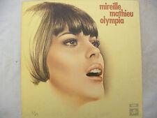 MIREILLE MATHIEU LP OLYMPIA g/f textured / one box Columbia scx 6391 near mint