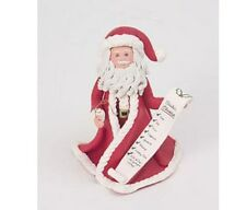 "KLASSIC KRINGLE 4"" ORNAMENT/FIGURINE ""SANTA'S SECRET""  #6560 NEW W BOX"