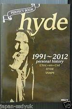 JAPAN hyde(L'Arc-en-Ciel,Vamps): PERFECT BOOK hyde - 1991~2012 personal history