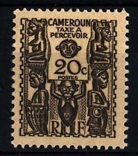 CAMEROUN - CAMERUN - 1939 - Segnatasse Francobolli- Figure Scolpite