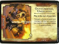 D&D Fortune Cards - 1x Outnumbered, Undaunted  #014