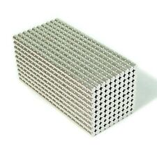 "2000pcs 1/8"" x 1/8"" Cylinder 3x3mm Neodymium Magnets Refrigerator Permanent N35"