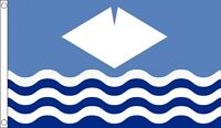 ISLE of WIGHT FLAG 5' x 3' WAVES England County English Counties
