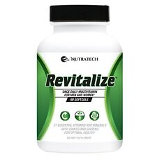 Revitalize – Powerful One A Day Multivitamin for Men & Women for Optimal Health