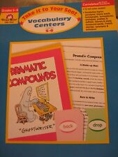 TEACHERS:Take it to Your Seat Vocabulary Centers, Grades 5-6