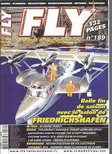 FLY N°189 AR DRONE PARROT / TAYLOCRAFT HANGAR 9 / FUNJET ULTRA MULTIPLEX