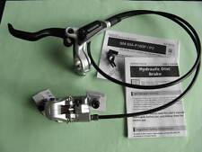 BR-M447/BL-M445 Scheibenbremse SHIMANO VR silber PM + Adapter 180 DISC Brake Neu
