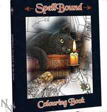 Spellbound Gothic/Pagan Colouring Book By Lisa Parker Animals With Magical Twist