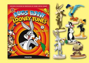 DeAgostini Looney Tunes 3D Figure Collection tutta la serie COMPLETA