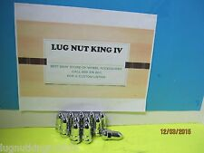 """10 BULLET ACORN LUG NUTS 1/2""""-20 FORD, MUSTANG,DODGE 5 LUG 5 ON 5 CHEVY TRUCK"""