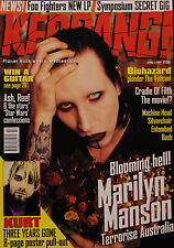 Kerrang! Magazine #642, 1997 Marilyn Manson, Cradle of Filth, Biohazard