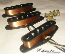 Texas Blues Stratocaster Pickups fit Fender A 5 SET BB Guitar Lab. +$5 REFUND