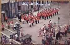 Hollywood, CA 1950's Chrome Postcard: MGM Movie Set w/Filming - California Cal
