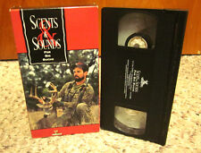 SCENTS & SOUNDS FOR BIG BUCKS hunting video whitetail deer Ford Ranch Texas VHS