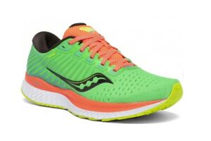 SAUCONY GUIDE 13 Scarpe Running Donna Guidance Support GREEN MUTANT S10548-10
