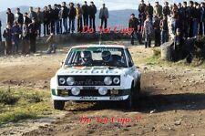 MARKKU ALEN ALITALIA FIAT 131 ABARTH Vincitore Rally Portogallo 1978 fotografia 2