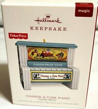 Hallmark 2018 Fisher Price Change A Tune Ornament Fast Ship