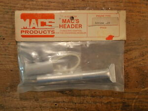 Mac's Products MACS Tuned Pipe Header Adapter For Irvine .20 Nitro Engine
