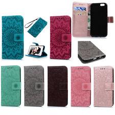 Premium Bunte Motiv Stand PU Leder Brieftasche Handyhülle Booklet iPhone 6 6s