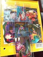 1995 Fleer Ultra X-Men Hunters and Stalkers 7 OUT OF 9 FOR SET RAINBOW