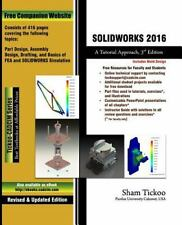 Solidworks 2016: A Tutorial Approach (Paperback or Softback)
