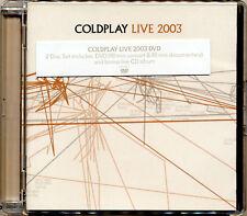 COLDPLAY Live 2003 DVD & CD