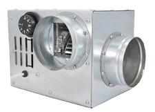 Heißluftventilator Kaminlüfter Warmluftgebläse 100mm / 200 m3/h - HVAC Heizung