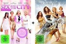 Sex and the City 1+2 Dvd Set Spielfilme, Der Film, Movie NEU & The Movies I-II