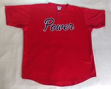 Palm Springs Power USA #26 Reebok Red Baseball Jersey Men's Rare Shirt Size XL