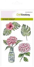 Craft Emotions A6 Clear Stamp Sets Magnolia  #1264