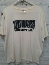 Dallas Who Shot JR? Shirt XL Off White *Stains