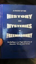 A Survey of the History and Mysteries of Freemasonry Robert L. Breeding -SIGNED