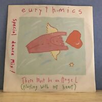 EURYTHMICS There Must Be An Angel  UK 12'' vinyl single EXCELLENT CONDITION  a