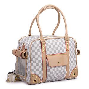 Folding Pet Carrier Purse Travel Bag Small Large Cat Dog Comfort Tote Handbag