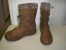 Itasca Snow Storm Womens Lace Up Winter Boot Size 11 Padded Water Resistant