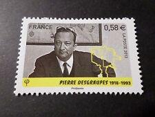 FRANCE 2013 timbre 4816, CELEBRITE' TELEVISION, DESGRAUPES neuf**, MNH CELEBRITY