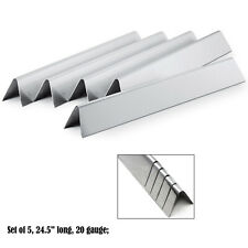 Stainless Steel Flavorizer Bars/Heat plates (5-pack) Replacement Weber 7539,7540