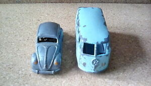 Morestone budgie minature vw microbus and vw beetle.