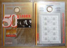 Numisblatt 3 / 2001 50 Jahre Bundesverfassungsgericht DM 10 Silber Gedenkmünze