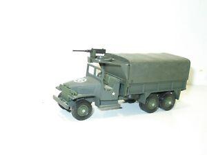 Solido Truck GMC Military With One Turret Machine Gun