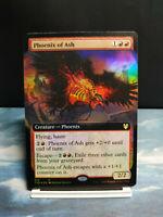 FOIL EXTENDED ART Phoenix of Ash MTG Magic Karte Theros Beyond Death
