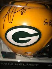 ANDREW QUARLESS PACKERS autographed mini helmet w/coa