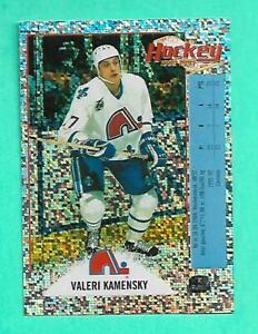 (1) VALERI KAMENSKY 1992-93 PANINI FRENCH STICKER FOIL STICKER CARD (V1941)
