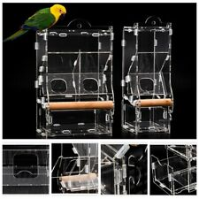 Birds Parrots Feeder No Mess Automatic for Cage Indoor/Outdoor Use Accessories