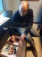 Asta di beneficenza CARLO VERDONE Foto autografata - Signed Autografo Cinema