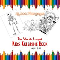 Worlds Largest Coloring Book set, art, draw, color, teachers, fun collection