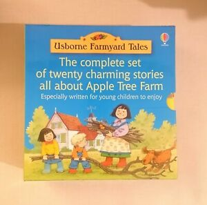 Usborne Farmyard Tales: The Complete Set of 20 Stories all about Apple Tree Farm